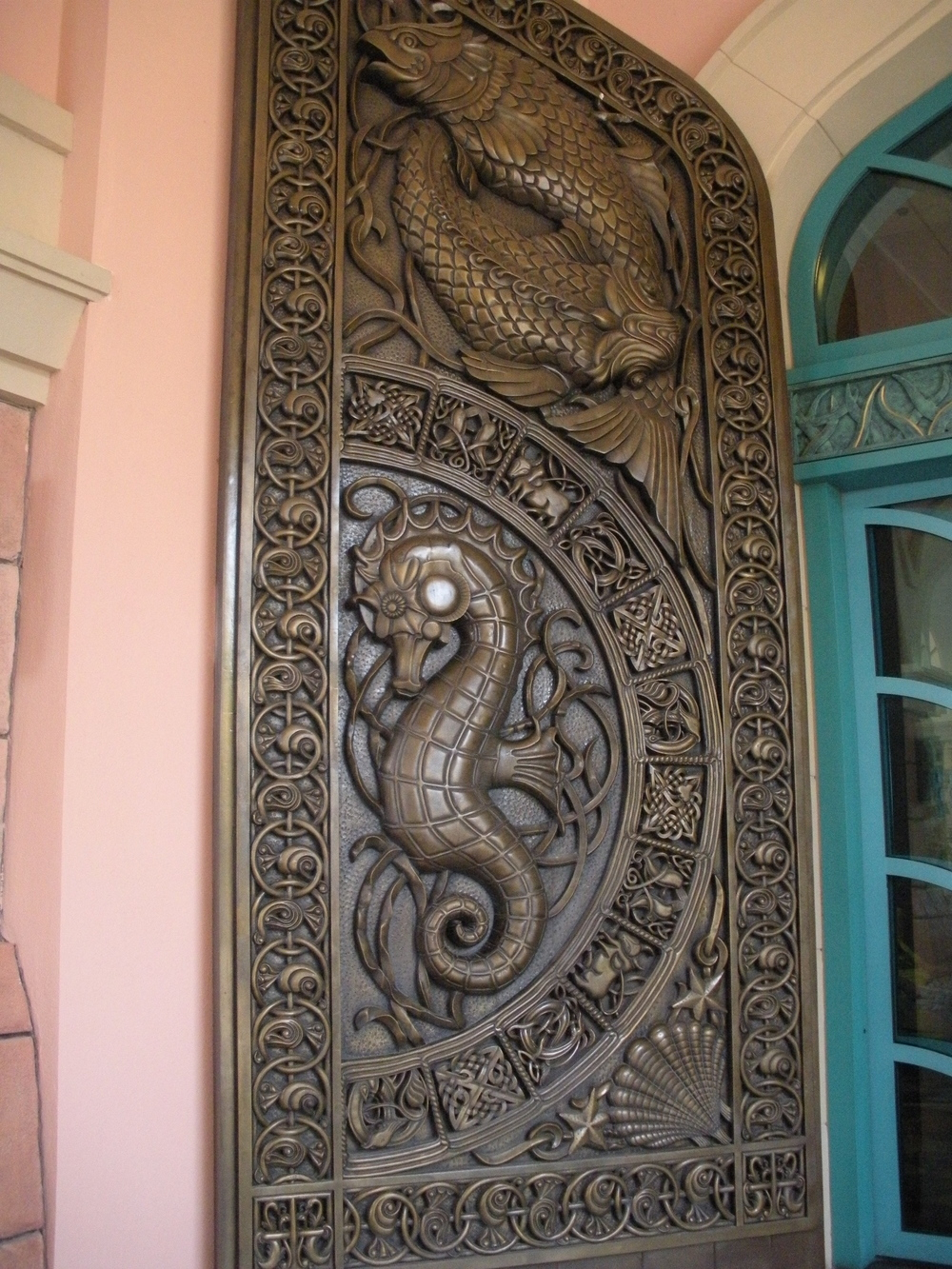 Doors at Atlantis