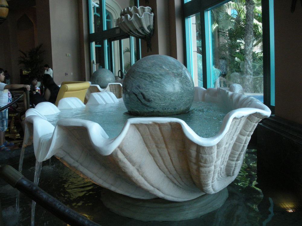 Clam fountain