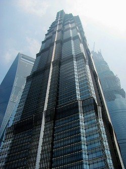 Jin Mao Tower during the conference
