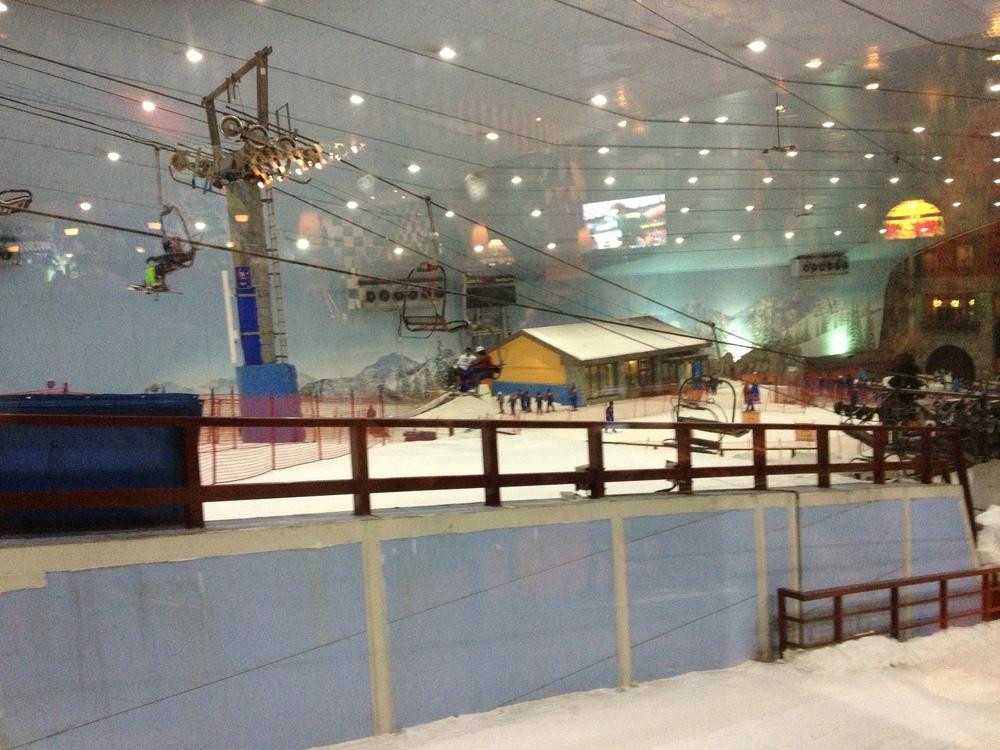 Ski Dubai at Mall of the Emirates