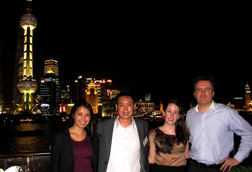 SME Team on the Pudong river!