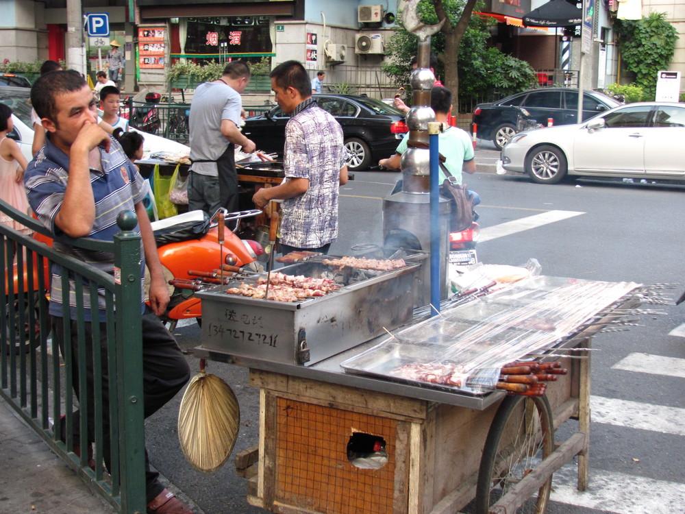 Xinjiang street skewers 烧烤