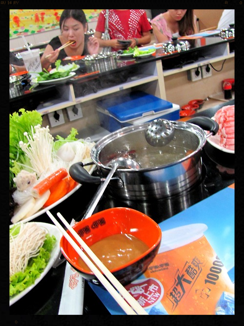 Hot Pot is perhaps the easiest meal to make. Just a lot of prep work, or you can hit up any of the several hot pot restaurants in Shanghai for a prep-free meal.