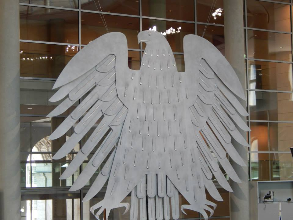 Der Adler,  the symbol of Germany