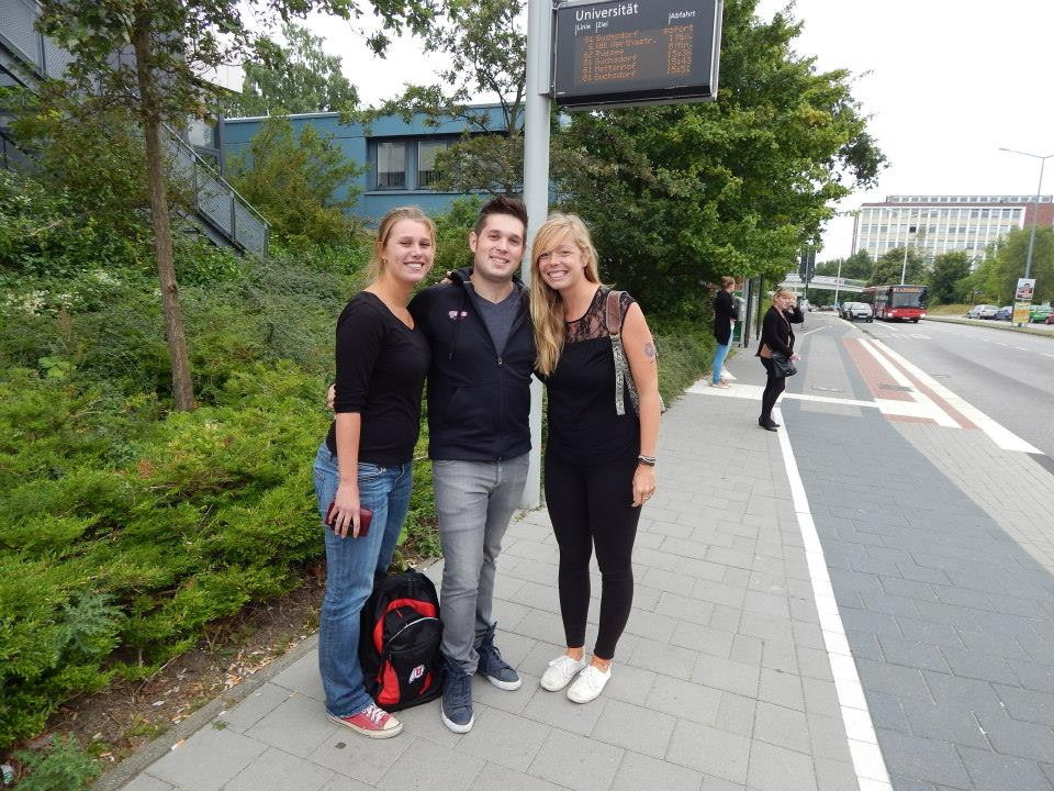 Former UofU exchange students from Kiel