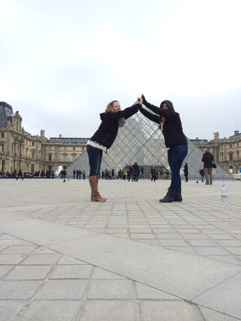 Getting Artsy at the Louvre
