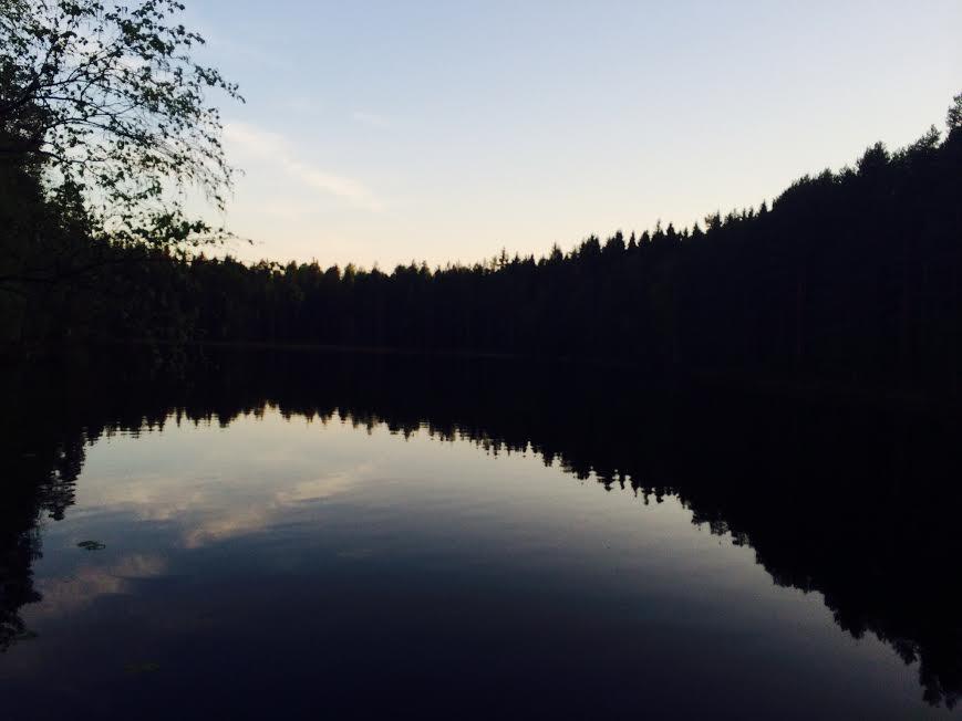 the pristine lake