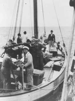 Danish Citizens Ferrying Jewish Refugees