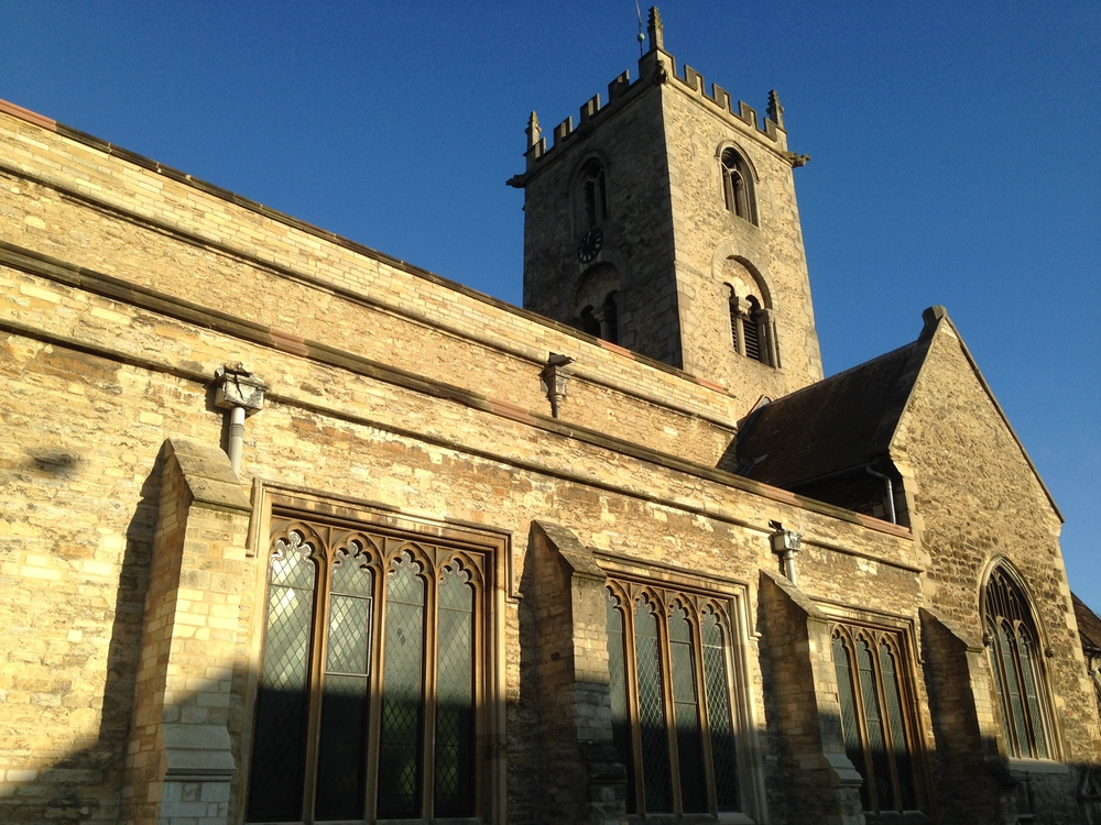 St. John's in Bedford, England