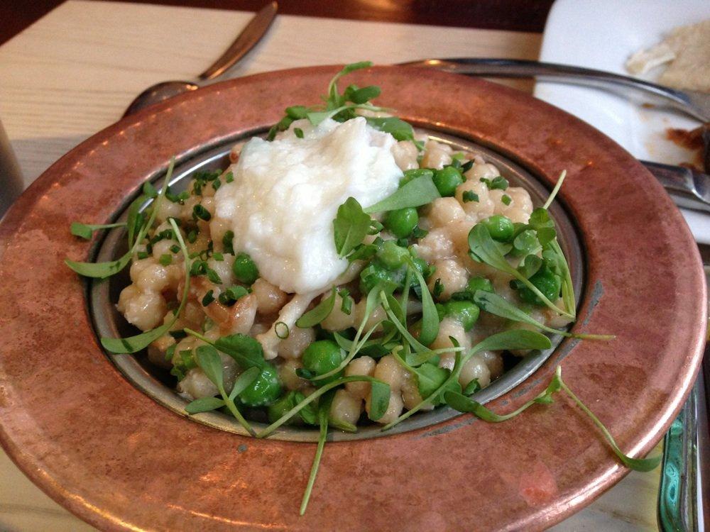 Zaytinya's mushroom couscous. Photo by Craig H.