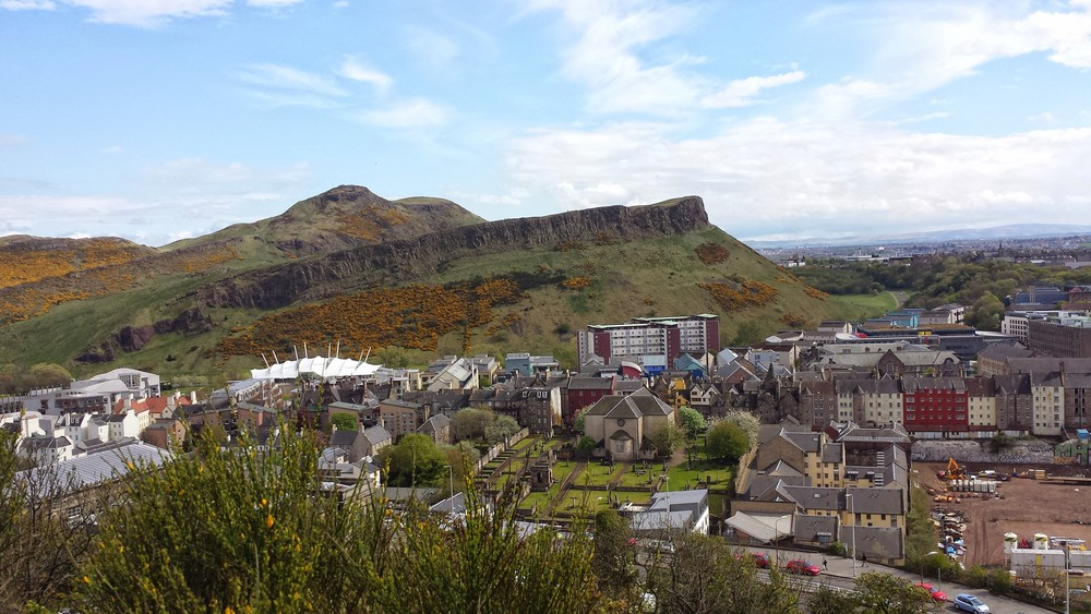 Arthur's Seat is actually an extinct volcano and not much of a hike.