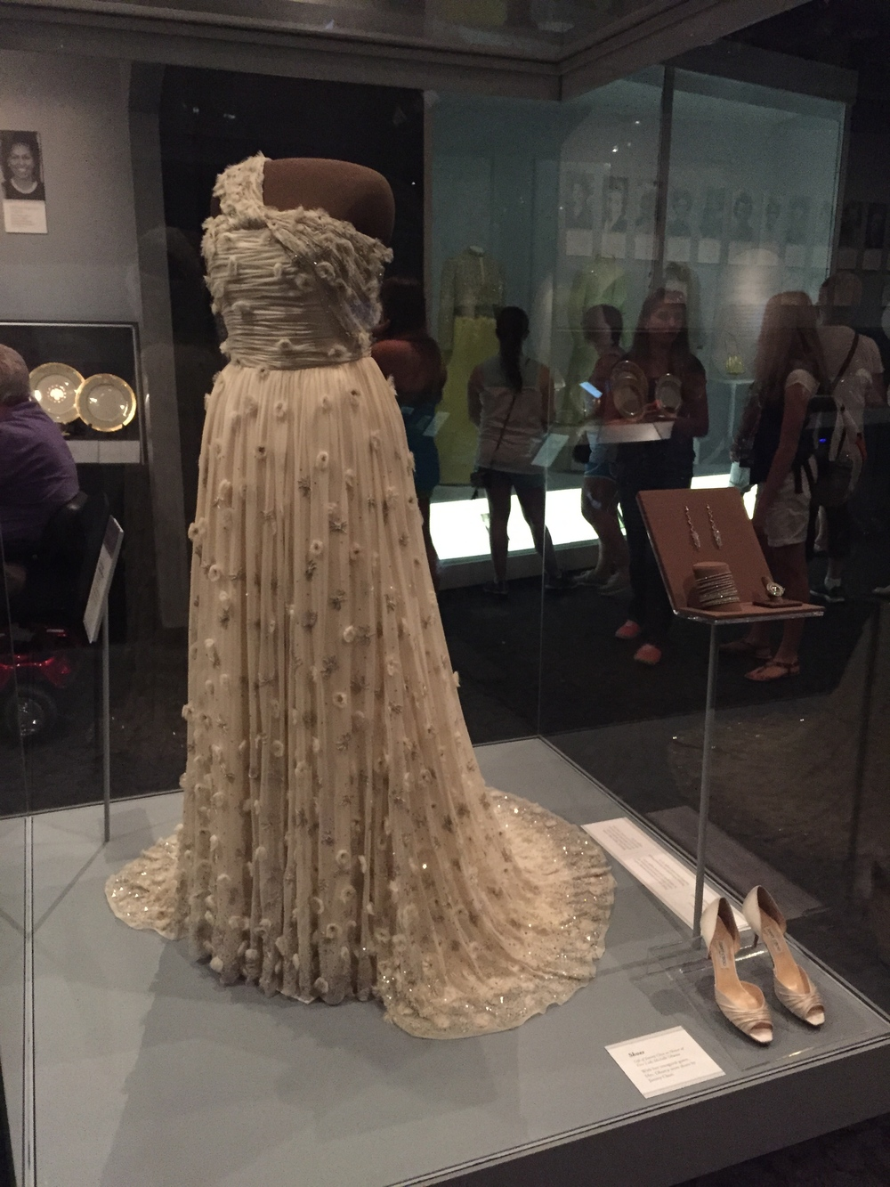 Dress worn by  Michelle Obama.