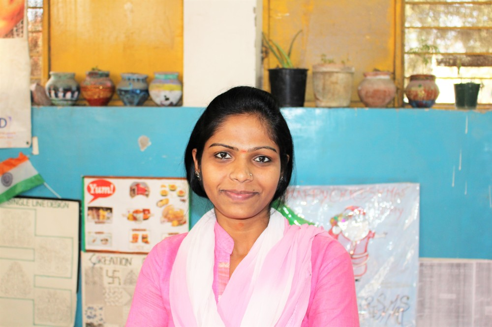 Meet Rani, she is one of the adolescents that we work with through the women's empowerment program.