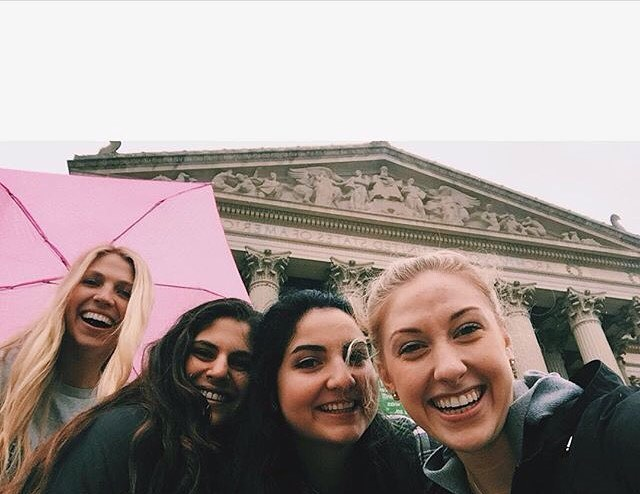 A rainy weekend well spent in DC. Thanks to #hinckleyintern @ash171 for sharing (and making us all jealous) ☂