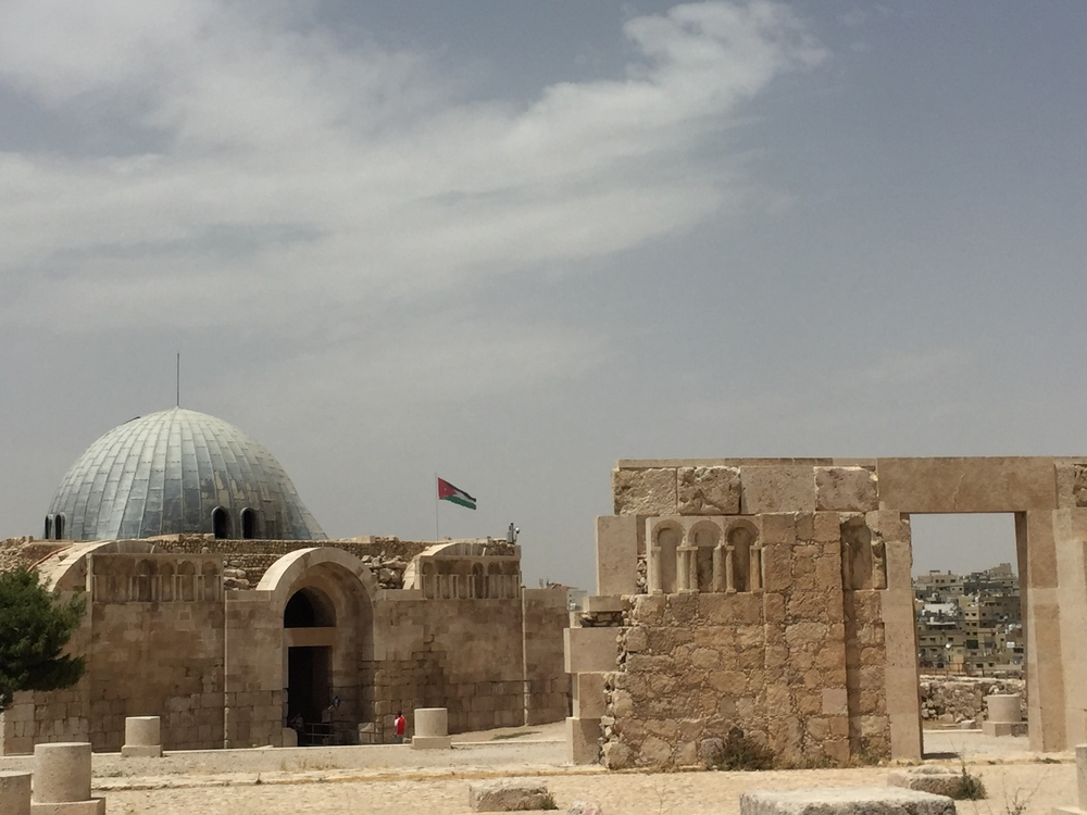The Umayyad palace.