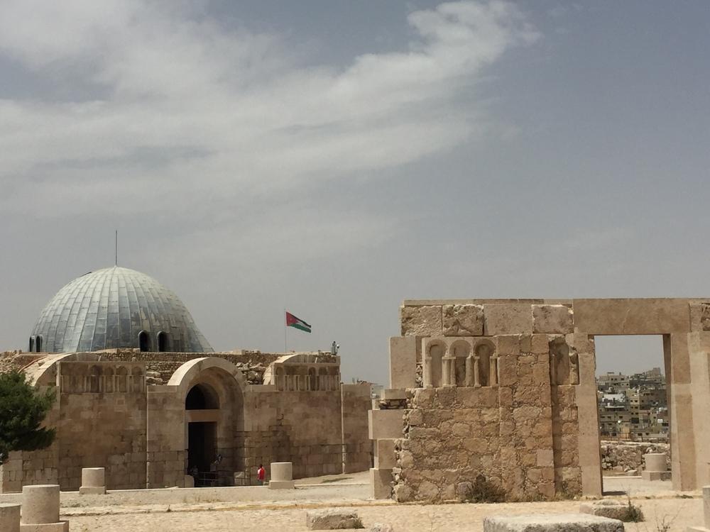 The Umayyad palace.