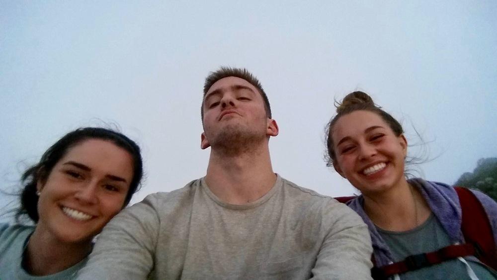 Zoe, Jon, and me!