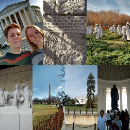 We managed to fit in a Monument Walk while visiting our family this past Thanksgiving 2015.
