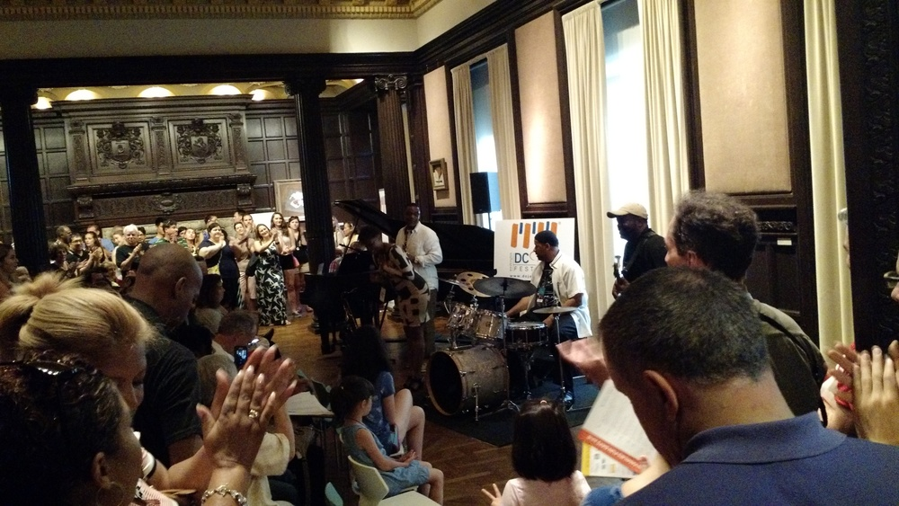 Jazz Fest performance at the Phillips Collection
