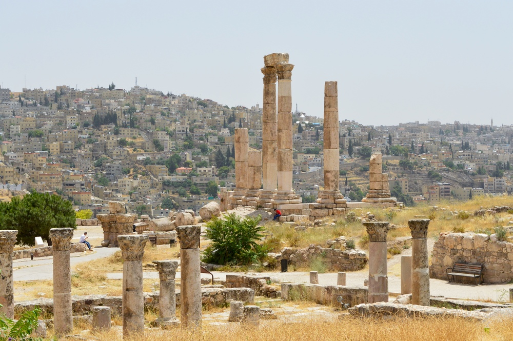 The Roman temple to Hercules.