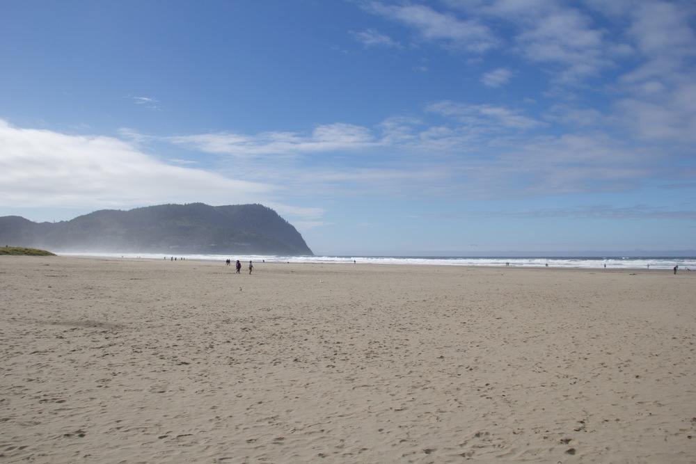 The Oregon coast