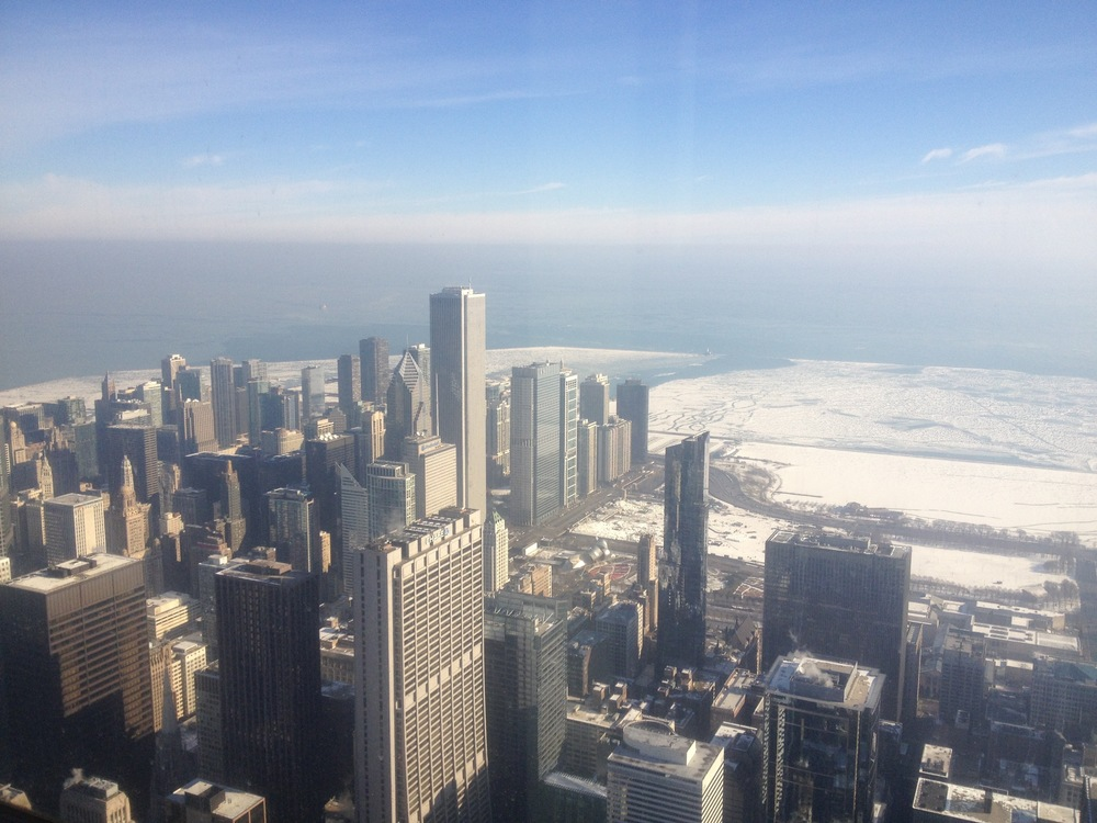 Chicago, from the Willis Tower
