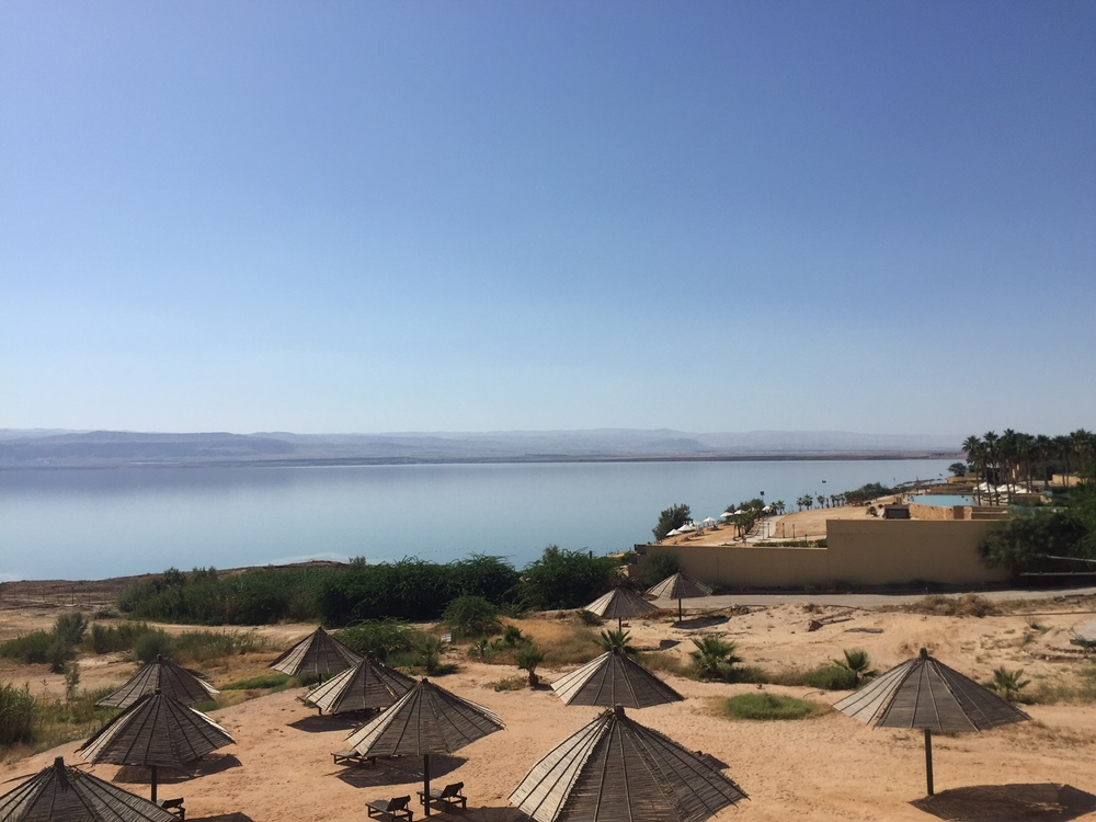 A view from our Dead Sea resort.