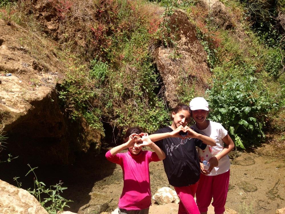 Sending love from Morocco