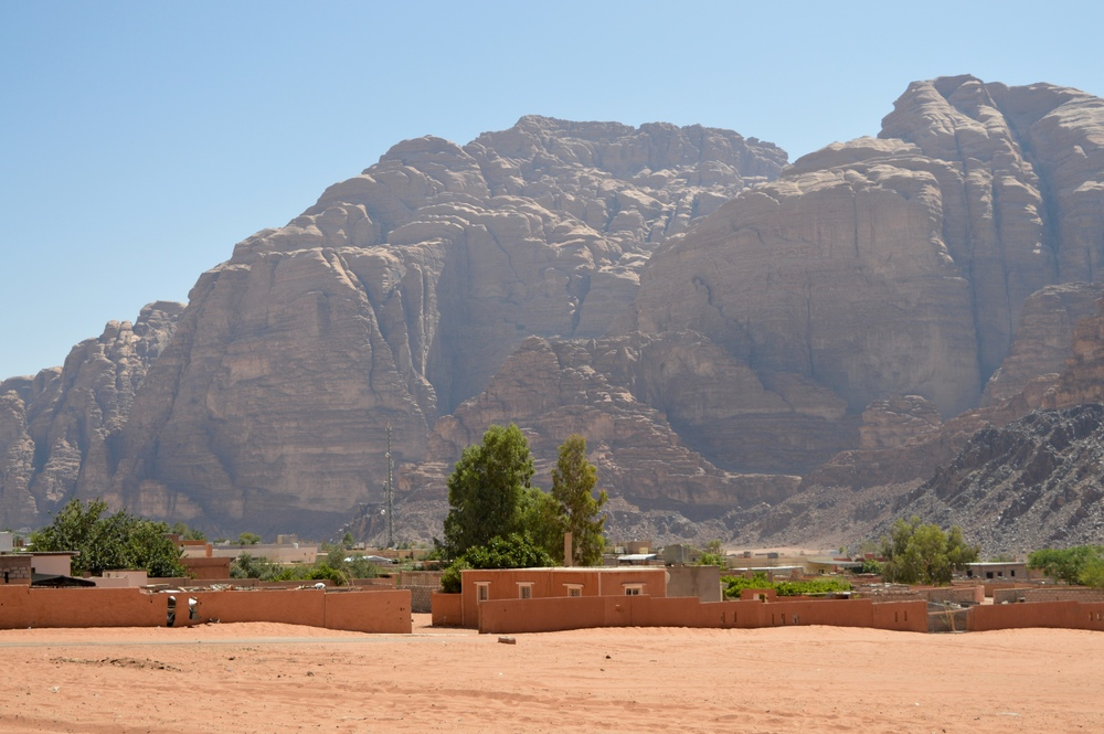 Wadi Rum village sits in a narrower part of the valley, and is the closest thing to a city anywhere near Wadi Rum. Most people who enter Wadi Rum do so through this village.