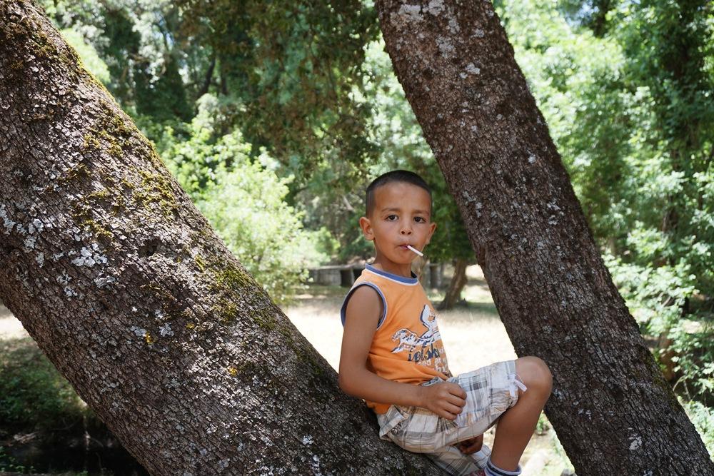 Little Haitam is adorable but so sassy.