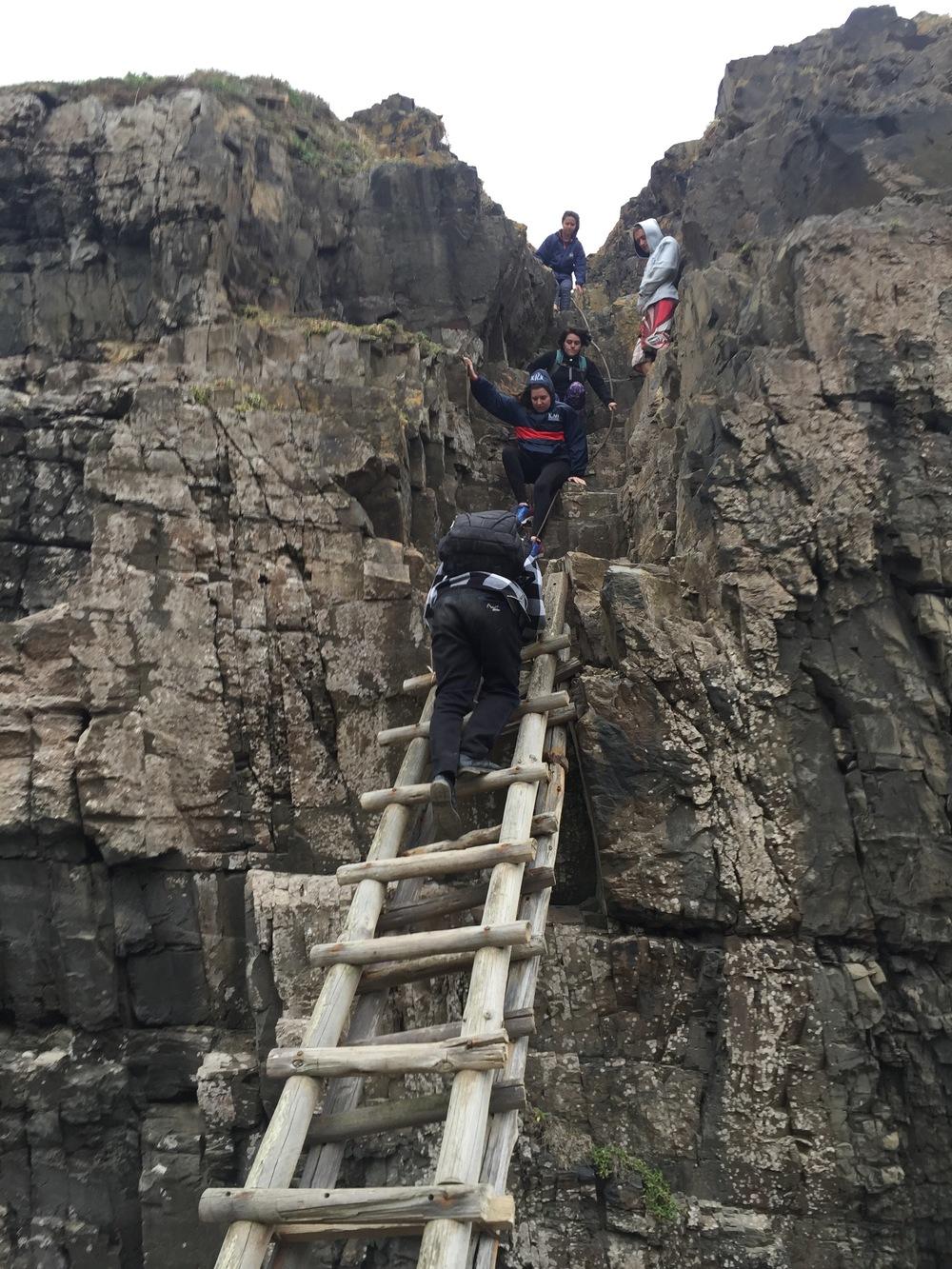 "Climbing ""the gap"""