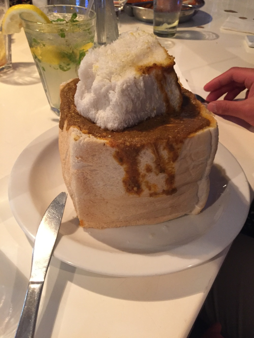 The infamous bunny chow