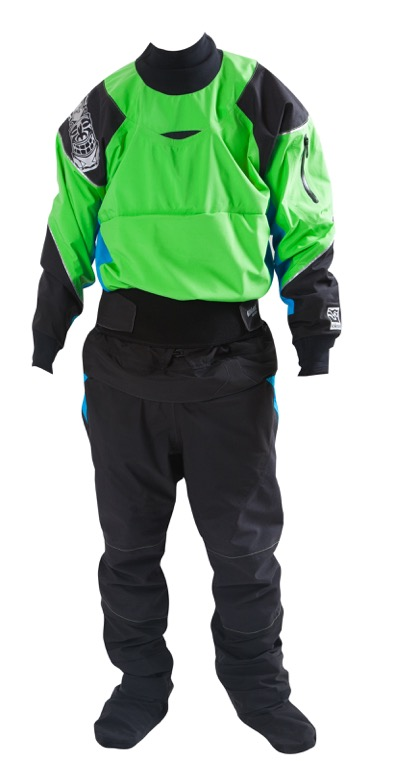 Kokokat Idol Dry Suit.  You've got your GORE-TEX, you've got your SwitchZip Technology, and you've got a Made-in-USA commitment that leads the outdoor industry.  Doesn't get much better.  LINK