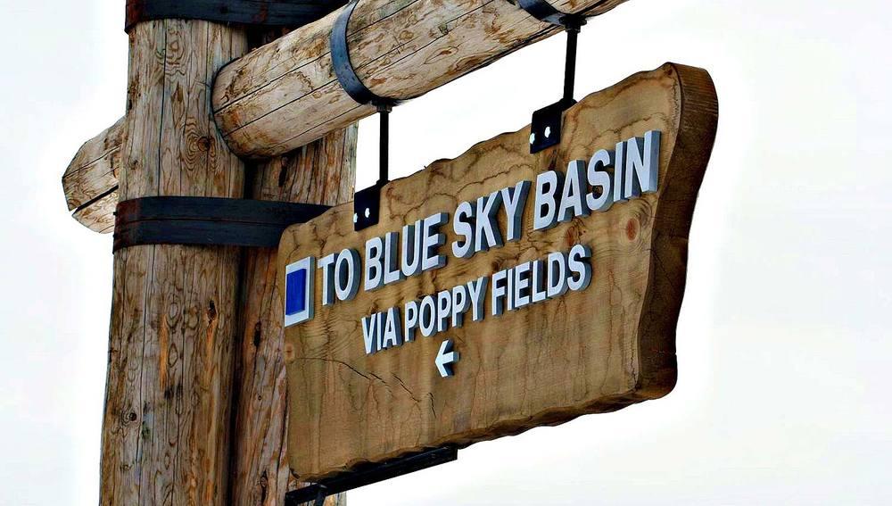 BLUE SKY BASIN @ VAIL, COLORADO