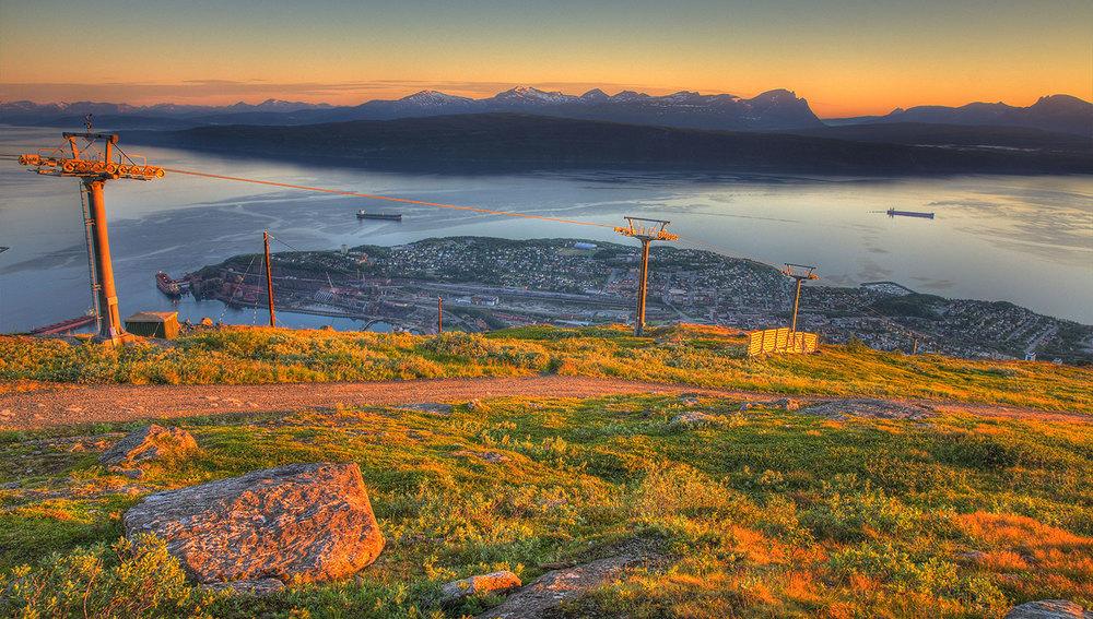 NARVIKFJELLET, NORWAY