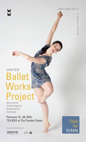 James Sewell Ballet Marketing Piece