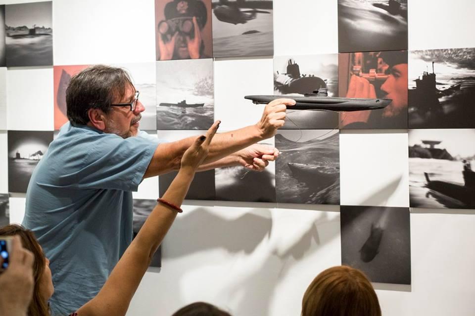 Ateliê Aberto:Conversa com José Diniz e Marcia Mello | 9/agosto / Foto: Hans Georg