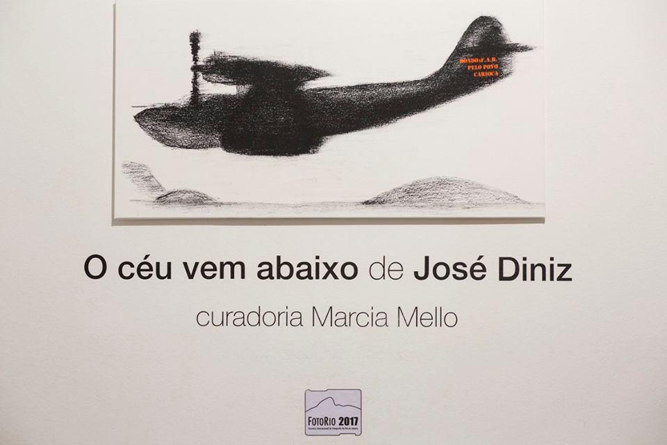 Exposição O céu vem abaixo, de José Diniz |Curadoria Marcia Mello / Foto: Hans Georg
