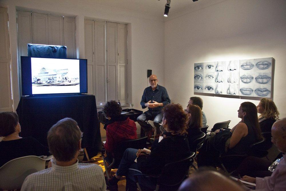 Workshop O vidro, a era moderna e a contemporaneidade, c/Agnaldo Farias | 15/junho