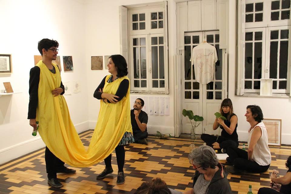 Ateliê Aberto: Sentidos do fio | vigiai e bordai | 13/abril
