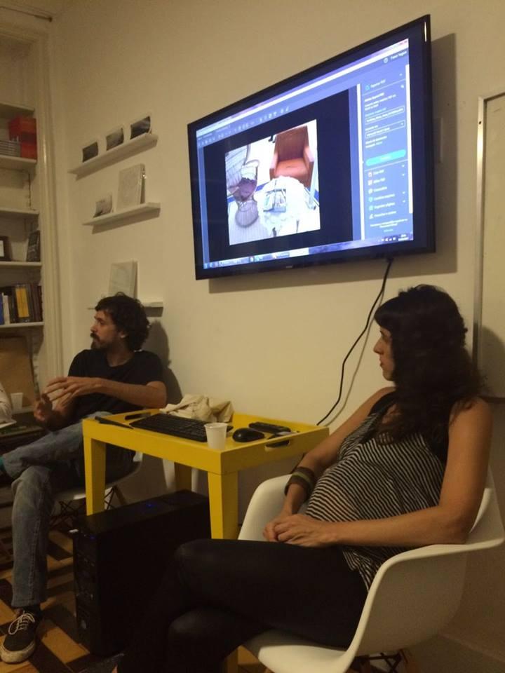 Ateliê Aberto: Felipe Braga e Mariana Kaufman | 5/abril
