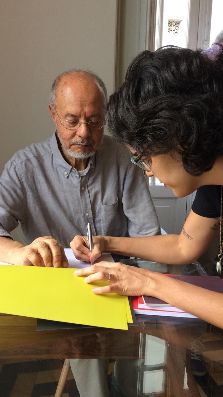 Lançamento da revista umbu, coordenada por Mariana David