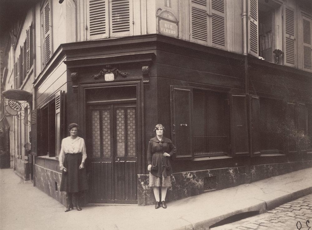 Eugène Atget, 18E, 1921