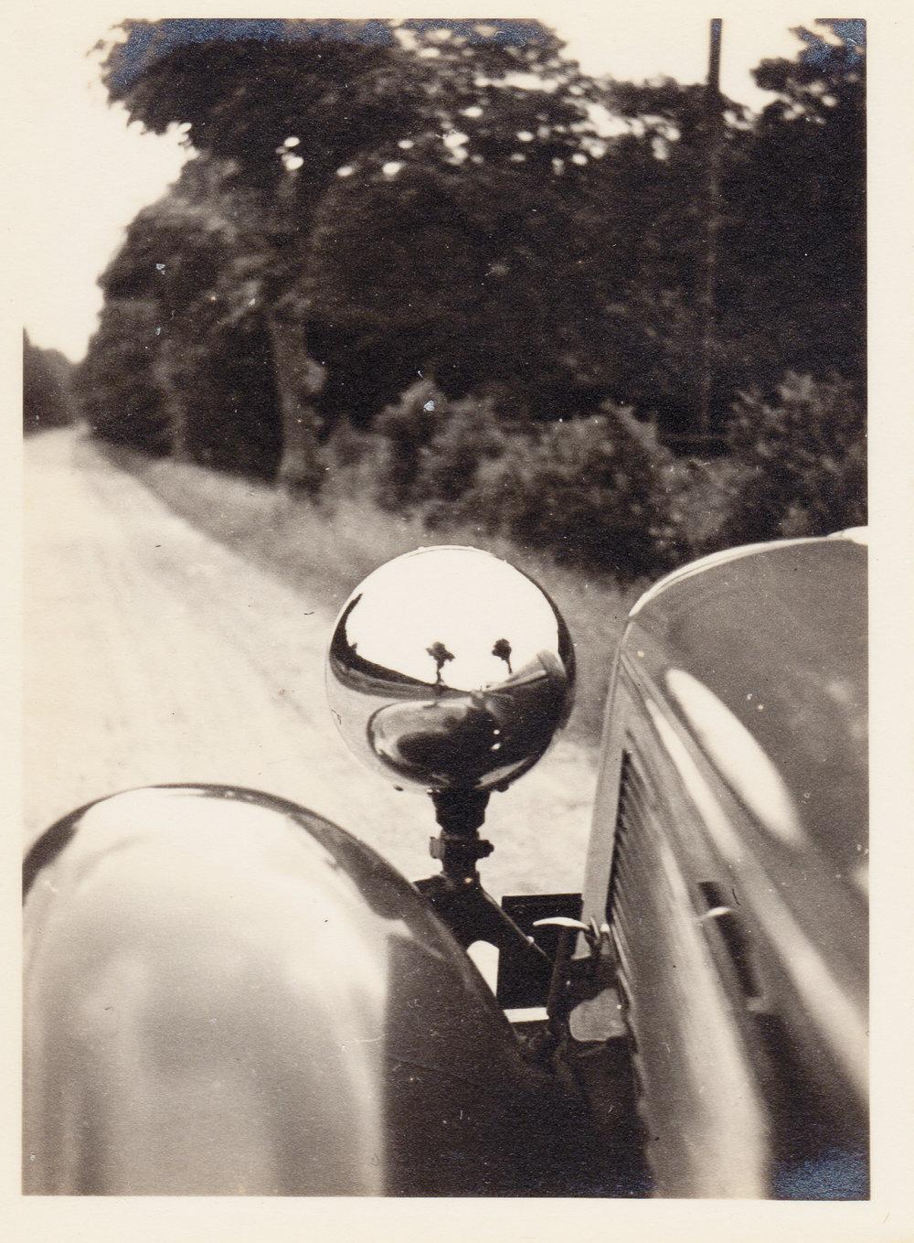Na estrada (foto Gerhard Valentin, 1936).