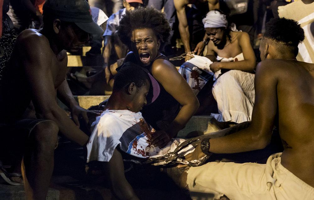 Passeata #vidanasfavelasimportam. Foto de Ana Carolina Fernandes.