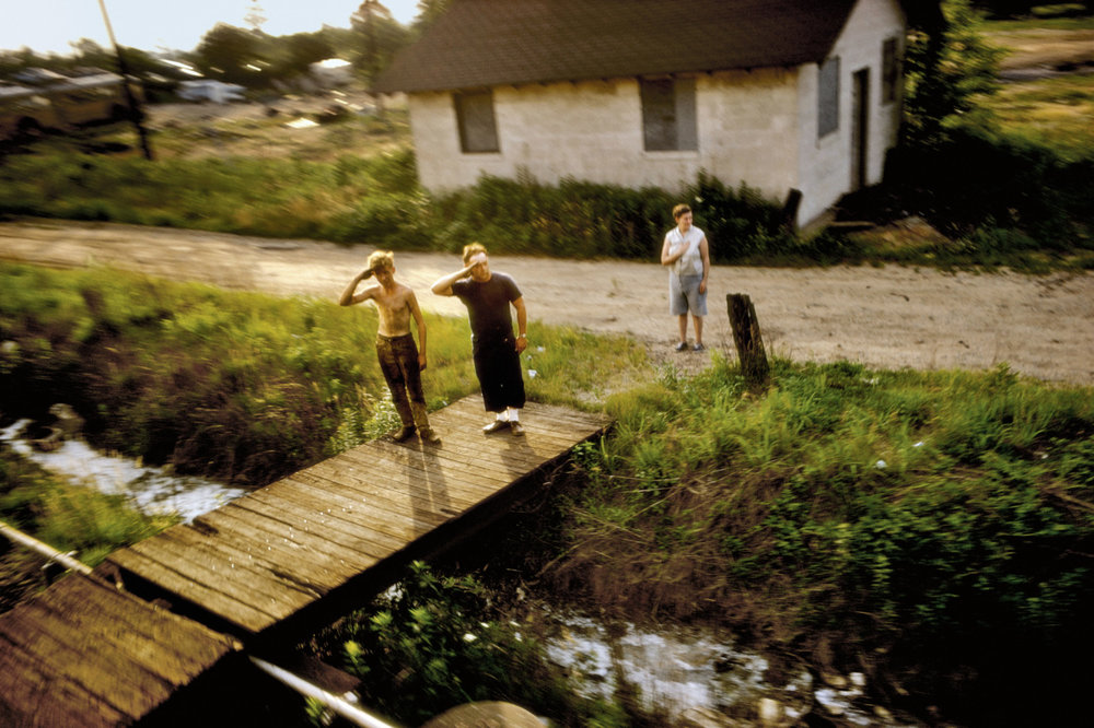 Paul Fusco, trem do funeral, EUA, 1968
