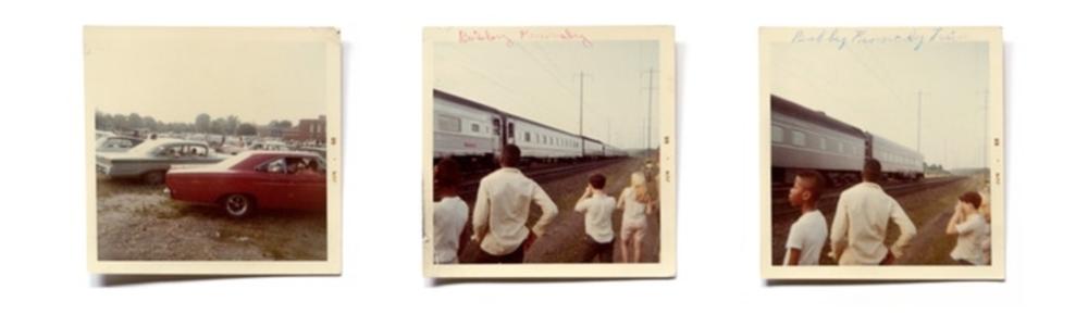 Annie Ingram, para série O ponto de vista do público - o trem do funeral de Robert Kennedy, Rein Jelle Terpstra, 2014-2018.