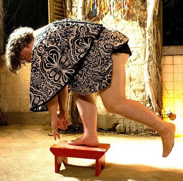"""""""A Natureza da Vida"""".  Performance durante o FotoRio Resiste Foto de Christina Bocayuva"""