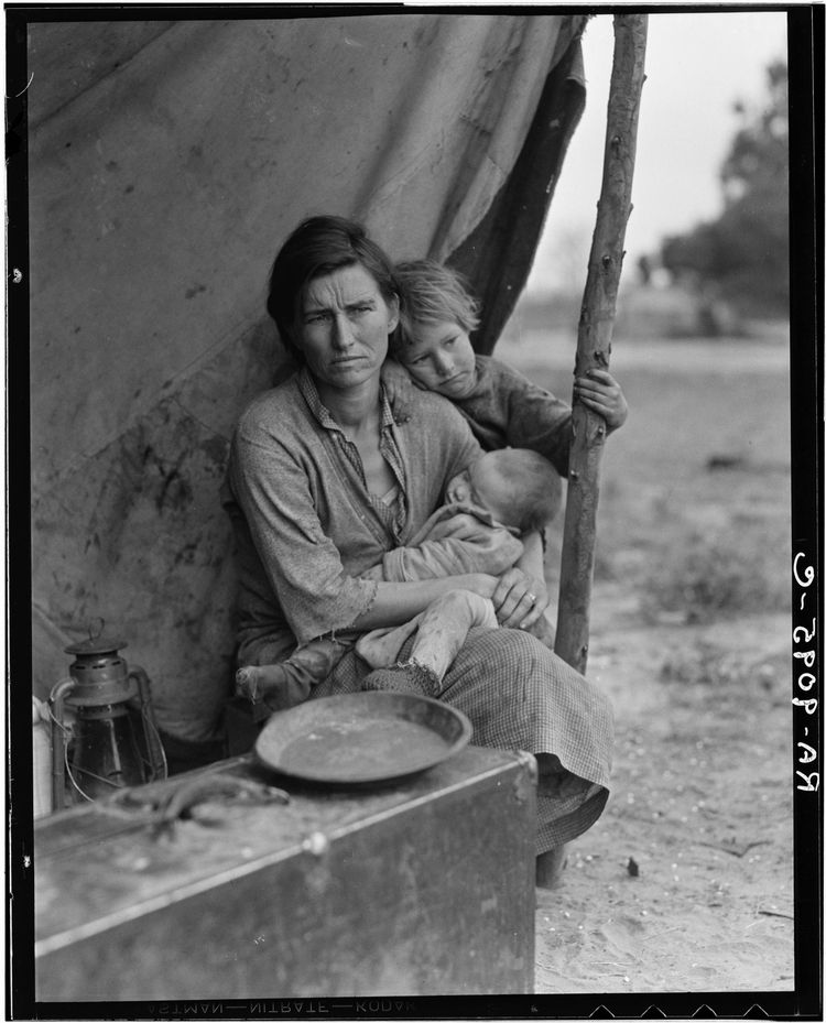 Dorothea Lange - Migrant Claifornia - 1936.jpg