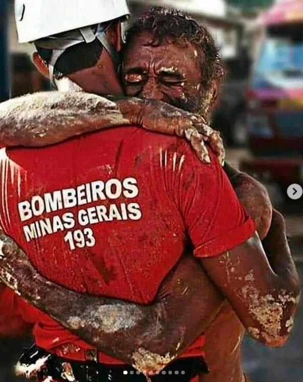 A foto que virou símbolo da tragédia de Brumadinho é de 2011. Foto de Aisian Henrique/Patos hoje.